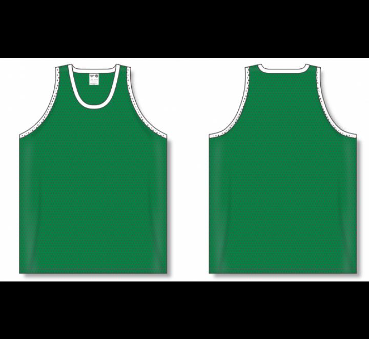 Polymesh TradItional Cut Basketball Jerseys - Kelly
