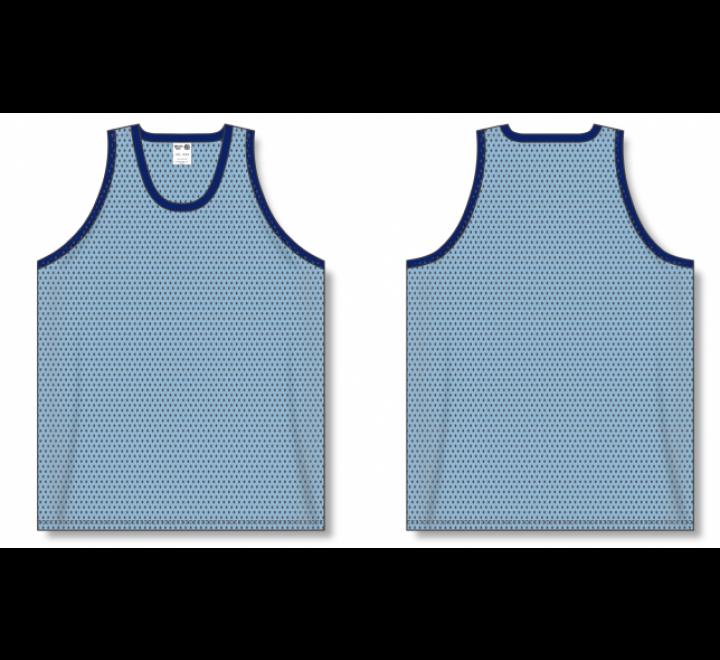 Polymesh TradItional Cut Basketball Jerseys - Powder