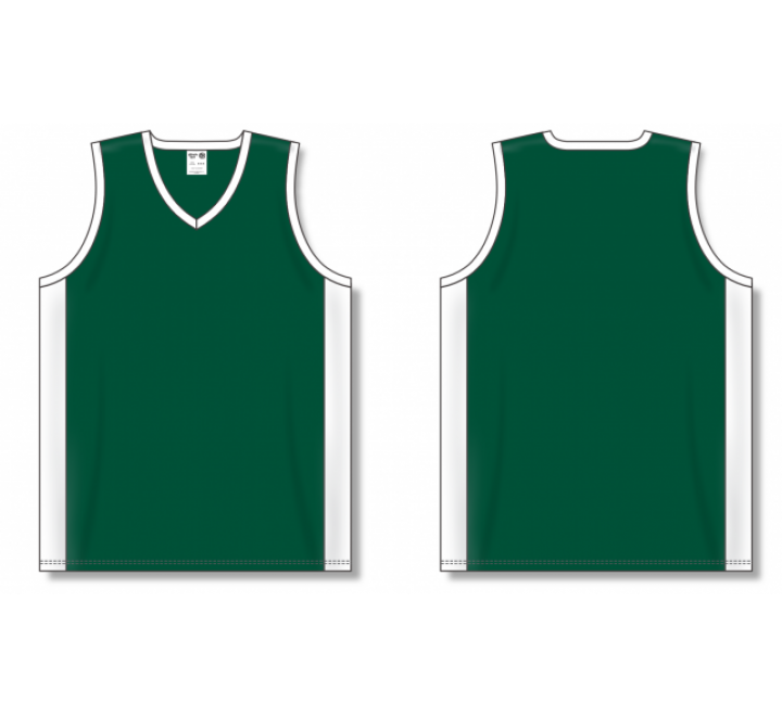 Dry-Flex Pro Cut with Inserts Basketball Jerseys - Dark Green
