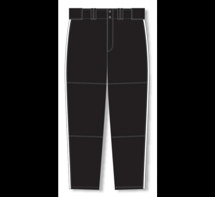 Baseball Pants - Black/White