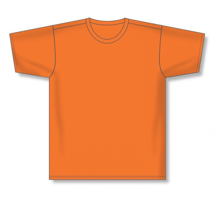 Pullover Baseball Jerseys - Orange