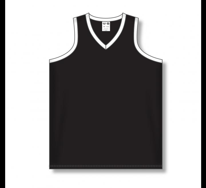 Ladies Baseball Jerseys - Black/White