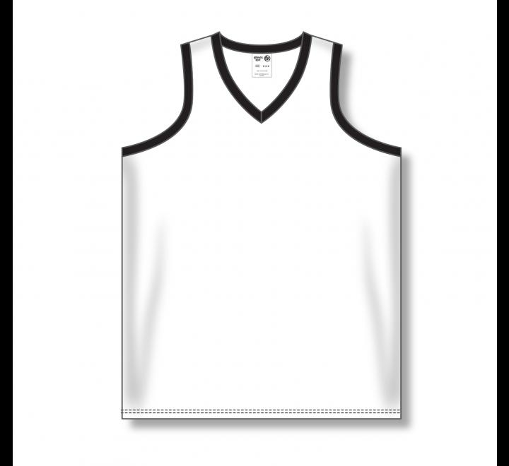 Ladies Baseball Jerseys - White/Black
