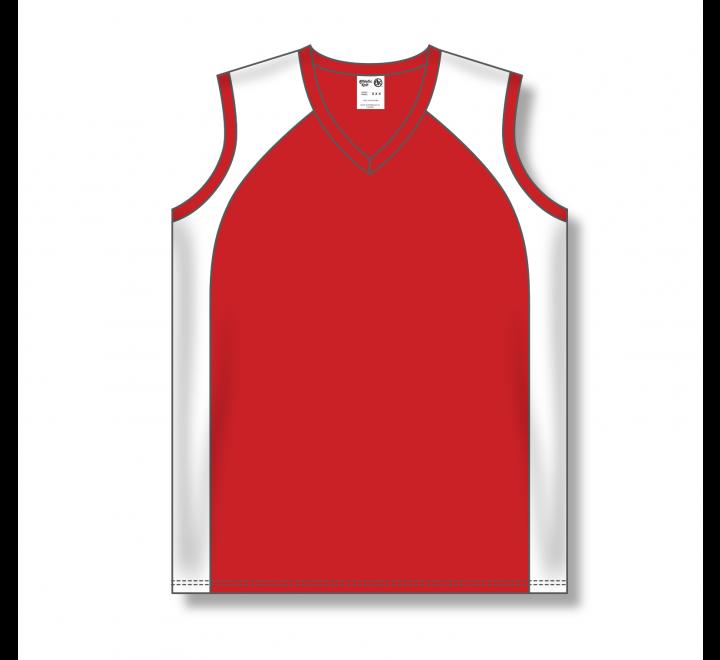 Ladies Baseball Jerseys - Red/White