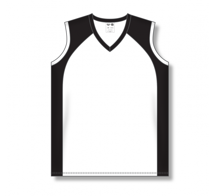 Ladies Baseball Jerseys - White/Black