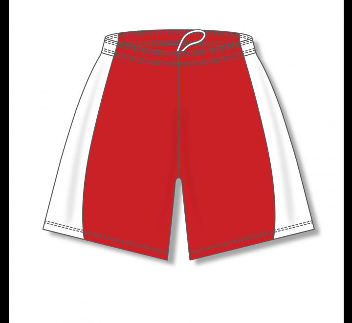 Baseball Shorts - Red/White