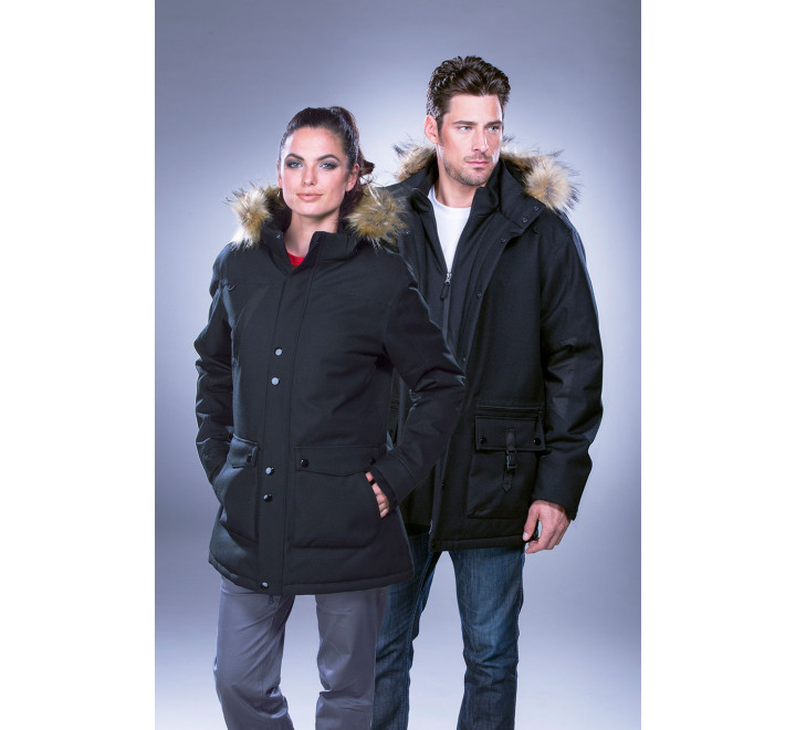 Men's Heavyweight Winter Jacket with Detachable Hood