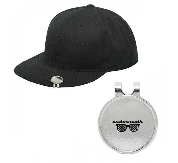 "Golf Ball Marker Hat Clip - 1"" W x 1.25"" H"