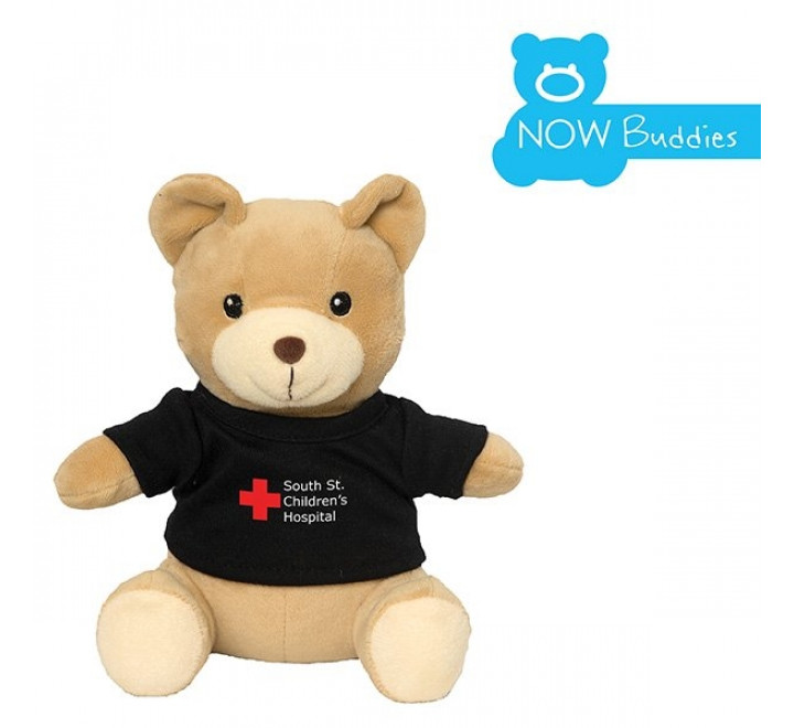 "Plush Animal - 6"" Bear Georgie with T-Shirt"