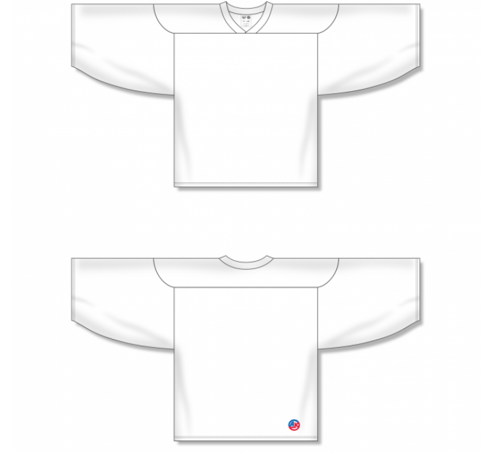 Practice Series Hockey Jerseys - White