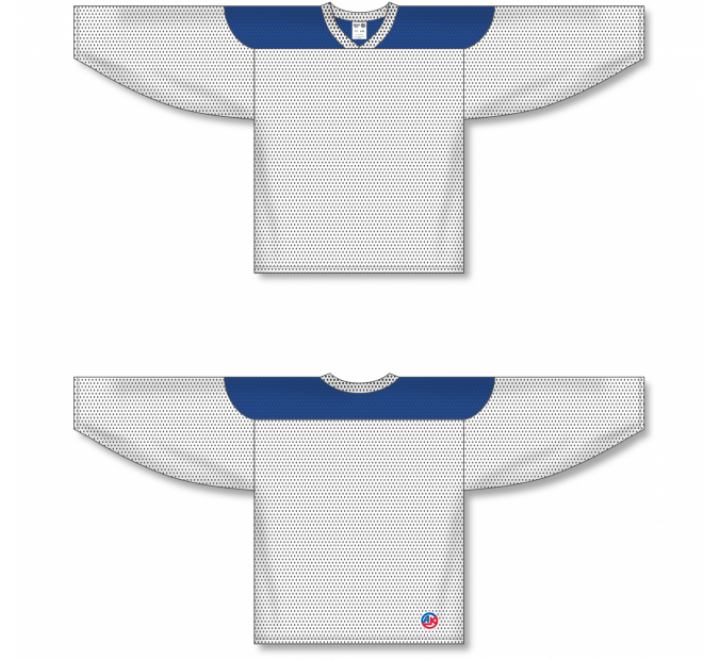 League Series Hockey Jerseys - White/Royal