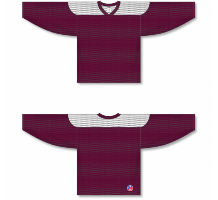 League Series Hockey Jerseys - Maroon