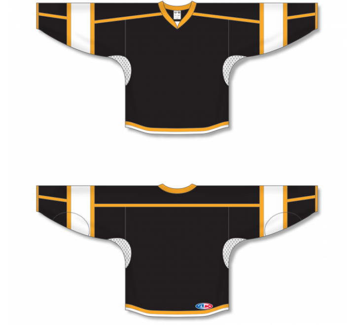 Select Series Hockey Jerseys - Black/Gold