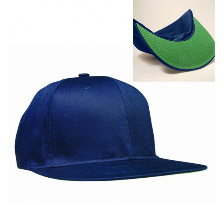 Flat Bill Deluxe Fashion Snapback Baseball Hat