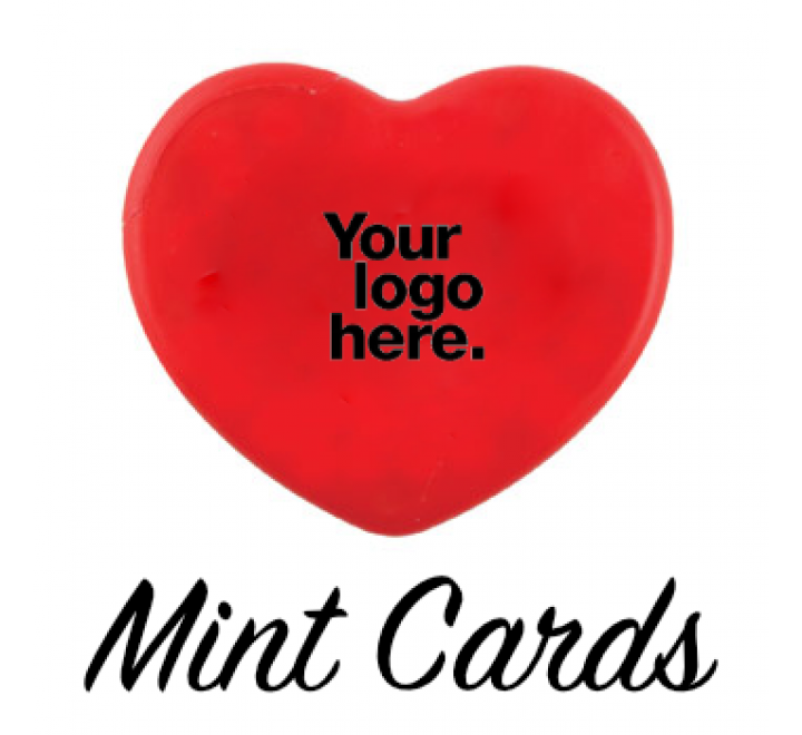 Heart Mint Cards