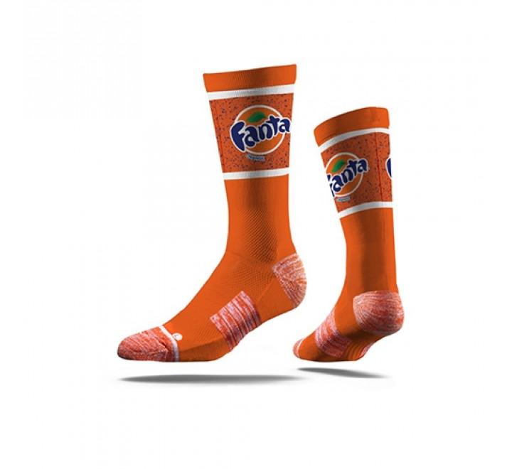 922-Classic Printed Crew Socks
