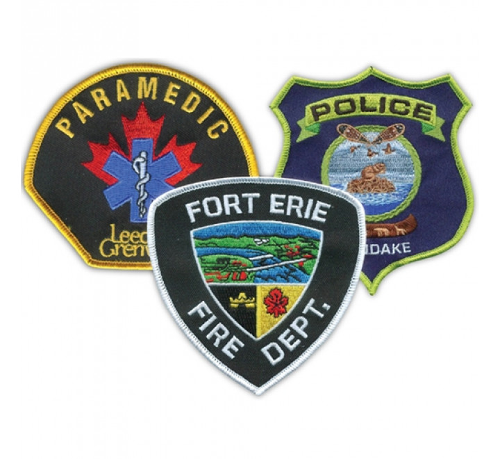 868-Custom Embroidered Patches & Crests