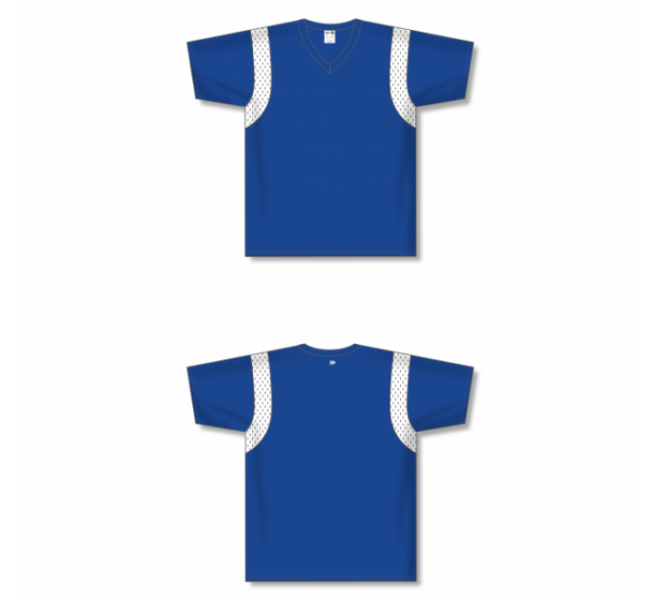 Custom Screen printed Soccer Jersey - Royal
