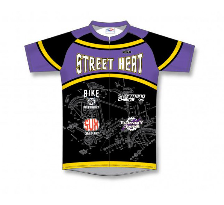 Sublimated Cycling Jerseys - C1515