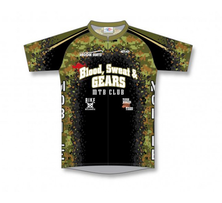 Sublimated Cycling Jerseys - C1302