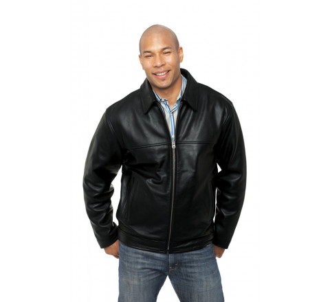 Heathrow Mens Leather Jacket