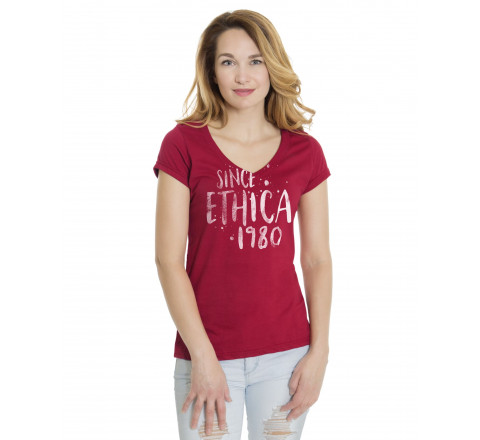 Ethica Women's V-Neck T-Shirt
