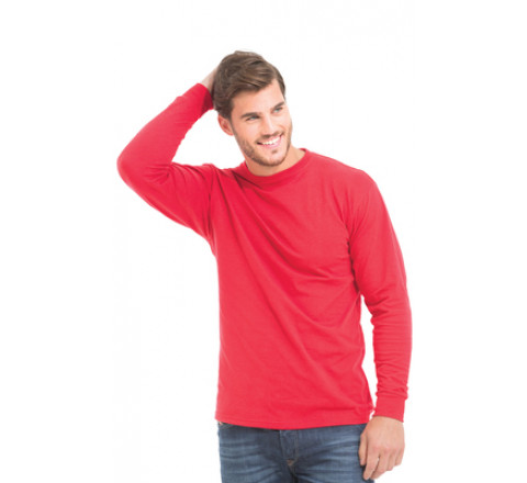 King Fashion Long Sleeve Mockneck, Interlock T-Shirt