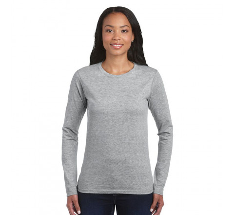 Gildan Ladies Fitted Softstyle L/S T-Shirt