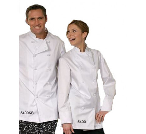 Chef Coats - Traditional White Only 100% Cotton