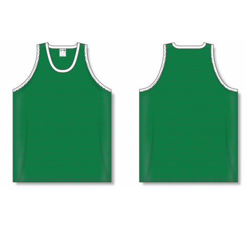 Polymesh TradItional Cut Basketball Jerseys - Kelly