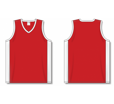 Dry-Flex Pro Cut with Inserts Basketball Jerseys - Red