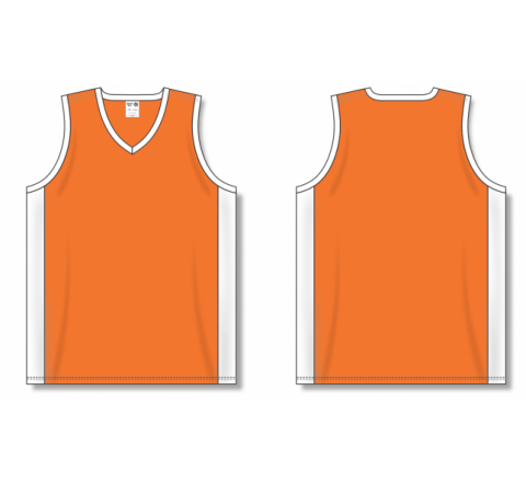 Dry-Flex Pro Cut with Inserts Basketball Jerseys - Orange