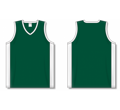Dry-Flex Pro Cut with Inserts Basketball Jerseys - Dark Green