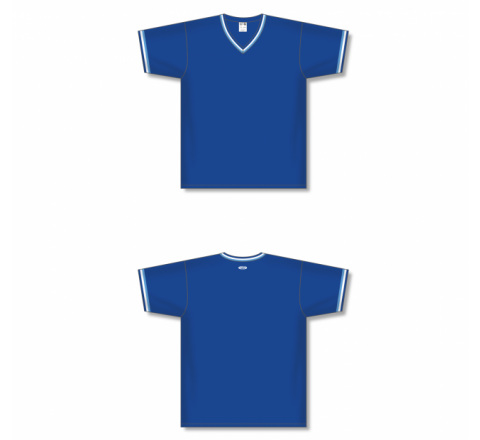 V-Neck Baseball Jersey - Royal
