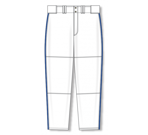 Baseball Pants - White/Royal