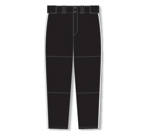 Baseball Pants - Black/White