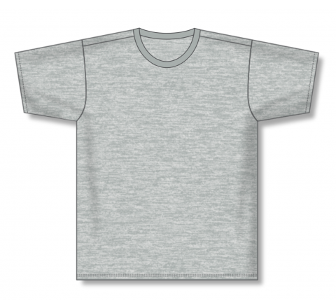 Pullover Baseball Jerseys - Heather Grey