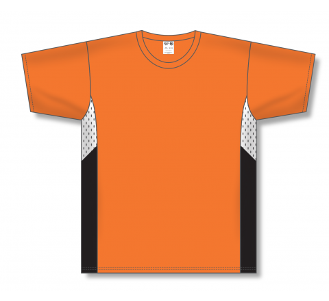 Pullover Baseball Jerseys - Orange/White/Black