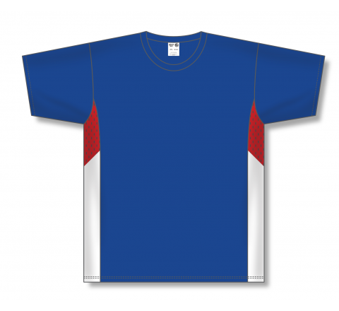 Pullover Baseball Jerseys - Royal/Red/White