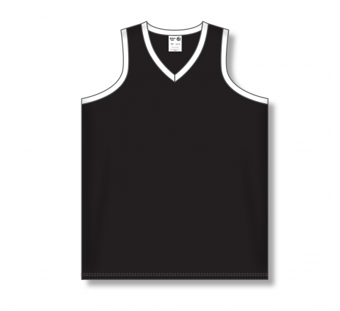 Ladies Baseball Jerseys - Black/White
