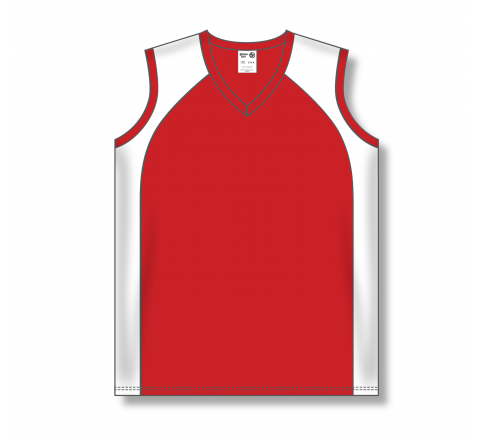 Ladies Baseball Jerseys - Red/White