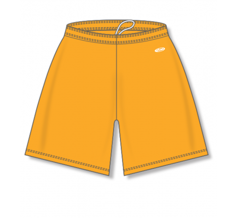 Baseball Shorts - Gold
