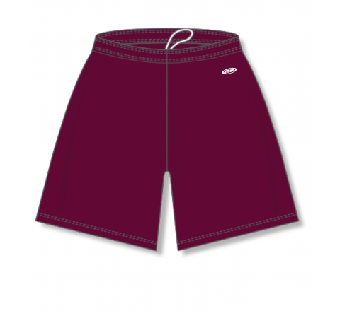 Baseball Shorts - Maroon