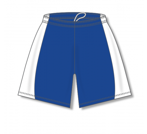 Baseball Shorts - Royal/White