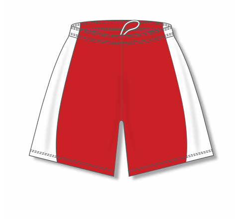 Baseball Shorts - Red/White