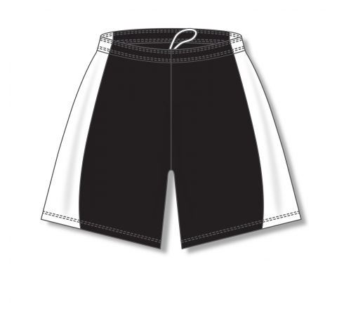 Baseball Shorts - Black/White
