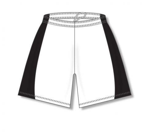 Baseball Shorts - White/Black