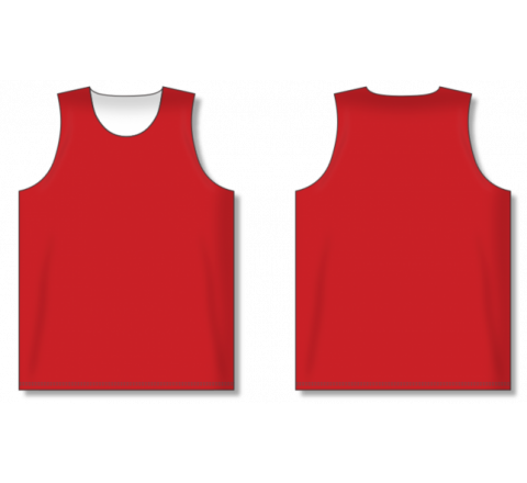 Dry-Flex Pro Cut Basketball Jerseys - Red