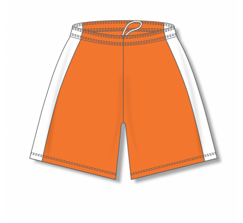 Dry-Flex with Side Inserts Basketball Shorts - Orange