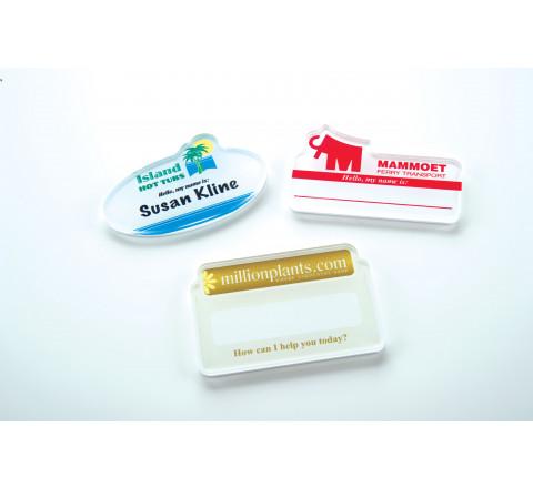 Custom Printed Name Badges in Toronto & Montreal, CA